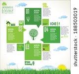 modern ecology design layout | Shutterstock .eps vector #188503019