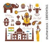 india set | Shutterstock .eps vector #188504561