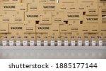 Vaccine Bottles On The...