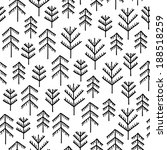seamless stylish pattern with...   Shutterstock . vector #188518259