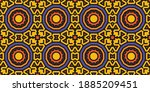 beautiful circular pattern.... | Shutterstock .eps vector #1885209451