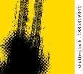 offroad grunge vector tyre... | Shutterstock .eps vector #1885319341