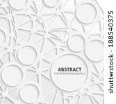 neural network background | Shutterstock .eps vector #188540375