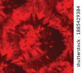 red abstract swirl artwork.... | Shutterstock .eps vector #1885429384