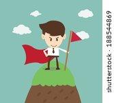 business success business man... | Shutterstock .eps vector #188544869