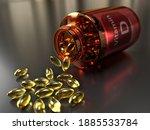 A Medicine Bottle Turned Over ...