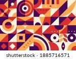 geometry minimalistic artwork...   Shutterstock .eps vector #1885716571