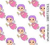 color seamless pattern. cartoon ...   Shutterstock .eps vector #1885732261