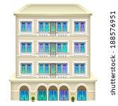 hotel icon. vector illustration ...   Shutterstock .eps vector #188576951