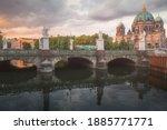 Schloss Bridge Over The River...
