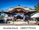 Scenery of a japanese shrine...