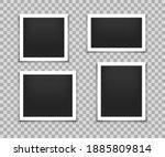 set of retro photo frames.... | Shutterstock .eps vector #1885809814