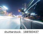 car on the road with motion... | Shutterstock . vector #188583437