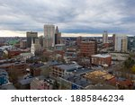 Aerial Panorama Of Providence...
