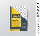 flyer creative business modern... | Shutterstock .eps vector #1885853914