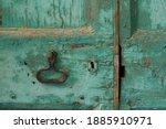 Closed Old Vintage Blue...