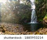 Beautiful Shot Of A Waterfall...