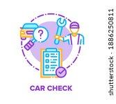 car check repair service vector ... | Shutterstock .eps vector #1886250811