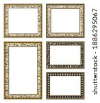 Decorative Frames Of Ancient...
