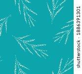 mono print style scattered...   Shutterstock .eps vector #1886391301