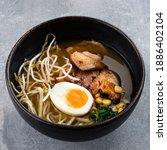 Traditional Japanese Soup Ramen ...