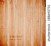 grunge retro vintage wooden... | Shutterstock .eps vector #188643731