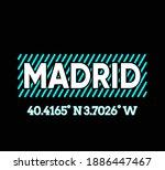 vector graphic of lettering...   Shutterstock .eps vector #1886447467