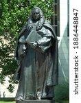 Statue Of Sir William Blackstone