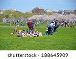 washington  dc   april 12 ... | Shutterstock . vector #188645909