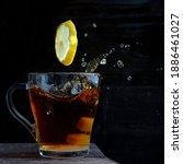 A Cup Of Ceylon Tea On A Wooden ...