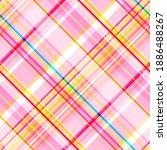 Pink Seamless Checkered Print ...
