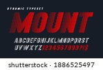 dynamic alphabet design ... | Shutterstock .eps vector #1886525497