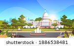 capitol building washington d.c.... | Shutterstock .eps vector #1886538481
