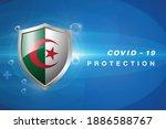 protection algeria flag...   Shutterstock .eps vector #1886588767