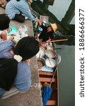 Damnoen Saduak  Thailand August ...