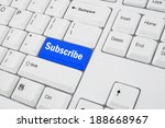 Keyboard With Subscribe Button