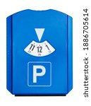 multilingual parking disc... | Shutterstock . vector #1886705614