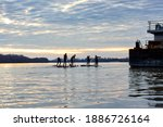 Children On Sup Row In The...