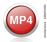 mp4 icon | Shutterstock .eps vector #188692481