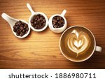 Hot Cappuccino With Roasted...