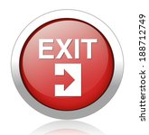 exit icons.vector exit icons.... | Shutterstock .eps vector #188712749
