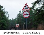 Traffic Signs For Railroad...