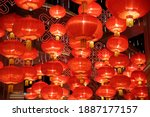 Festive lanterns for chinese...