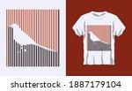 inverted silhouette of bird...   Shutterstock .eps vector #1887179104