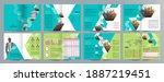 corporate business presentation ... | Shutterstock .eps vector #1887219451