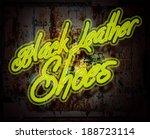 neon sign illustration | Shutterstock . vector #188723114