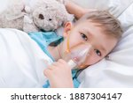 Boy Has Inhalation  Procedure...