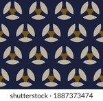 elegant masculin pattern manly... | Shutterstock .eps vector #1887373474