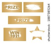letters scratch and win.... | Shutterstock .eps vector #1887385264