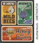 Beekeeping Farm And Honey...